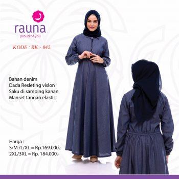 Baju Gamis Wanita Rauna